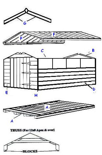 easy shed assembly instructions